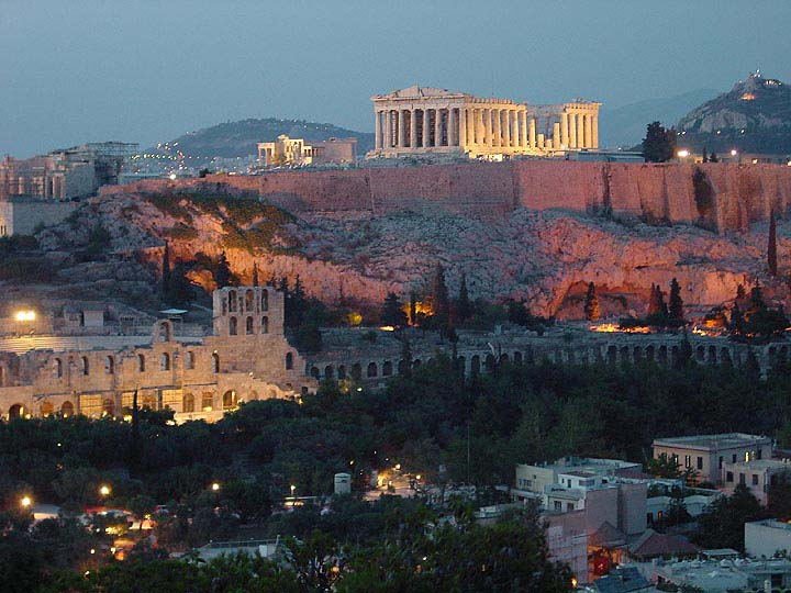 Greece - Athens - Acropolis by night -